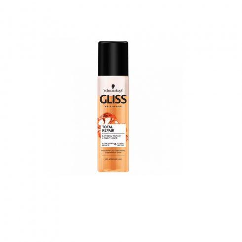 Gliss Kur Total Repair kétfázisú balzsam spray keratin szérummal 200ml