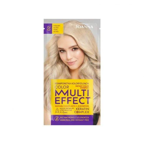 Joanna Multi Effect kimosható hajszínező 02 GYÖNGY SZŐKE 35g
