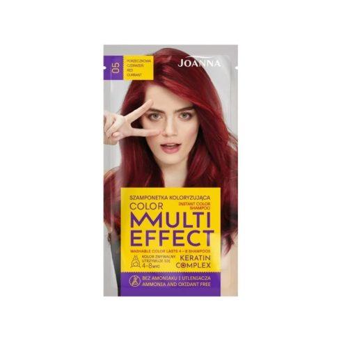 Joanna Multi Effect kimosható hajszínező 05 RIBIZLI VÖRÖS 35g