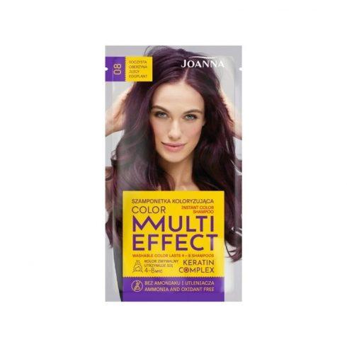 Joanna Multi Effect kimosható hajszínező 08 PADLIZSÁN 35g
