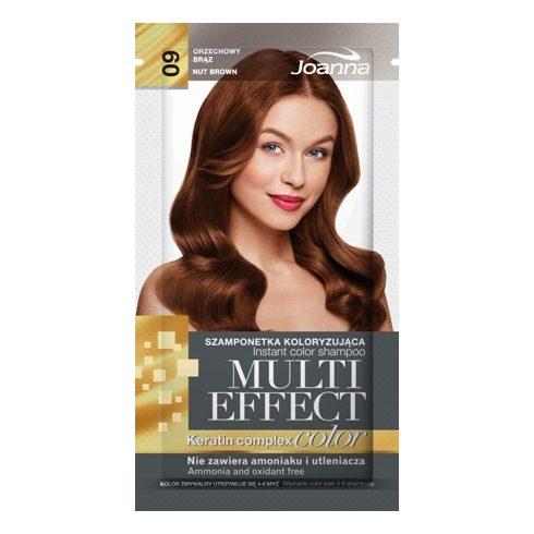 Joanna Multi Effect kimosható hajszínező 09 MOGYORÓ BARNA 35g