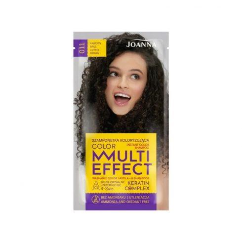 Joanna Multi Effect kimosható hajszínező 011 KÁVÉ BARNA 35g