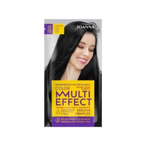 Joanna Multi Effect kimosható hajszínező 013 ÉBENFEKETE 35g
