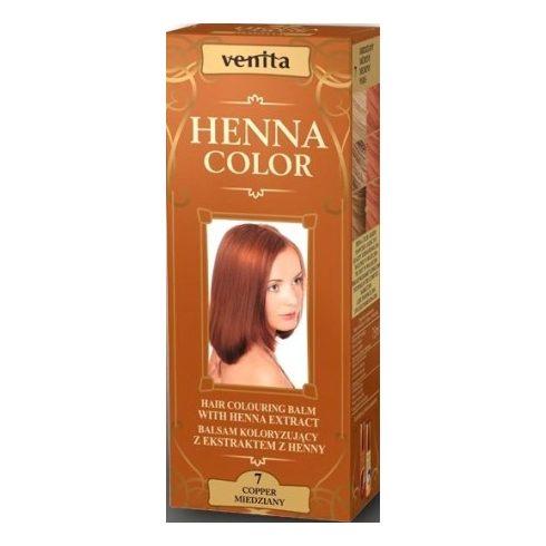 Venita Henna Color hajszínező balzsam 7 Rézvörös 75ml