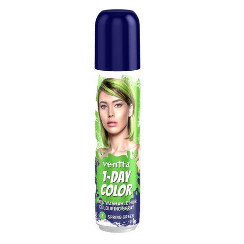 1-Day Color hajszínező spray zöld (spring green) 50ml