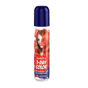 1-Day Color hajszínező spray piros (red spark) 50ml