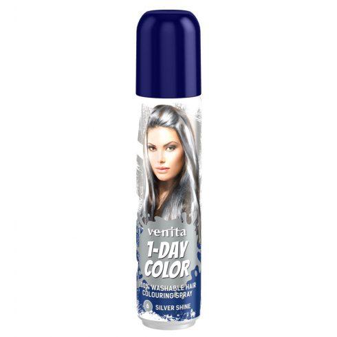 1-Day Color hajszínező spray ezüst (silver shine) 50ml