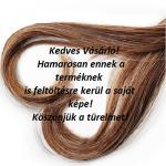 Top Choice minőségi bontó hajkefe téglalap bordó (63176)