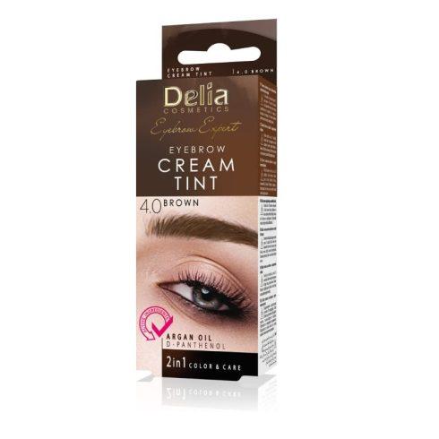 Delia argánolajos szemöldökfesték 4.0 barna