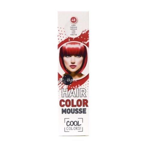 Élysée hajszínező hab rubin (48) 75ml