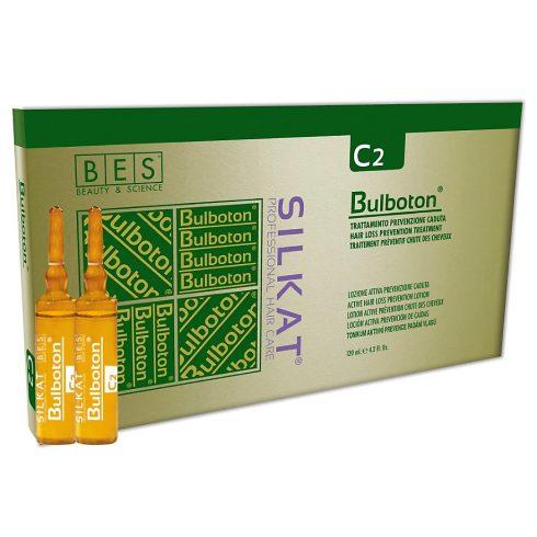 BES Silkat C2 Bulboton hajhullás elleni ampulla 12db fiola