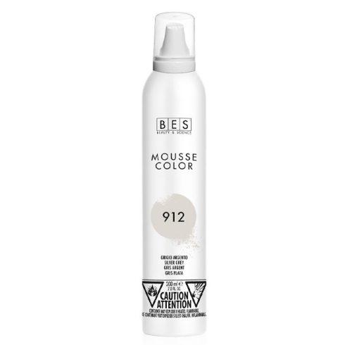 BES Mousse Color 912 (ezüstszürke) színezőhab 200ml