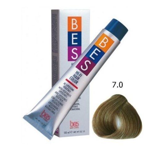 BES HI-FI hajfesték 7.0 szőke 100ml