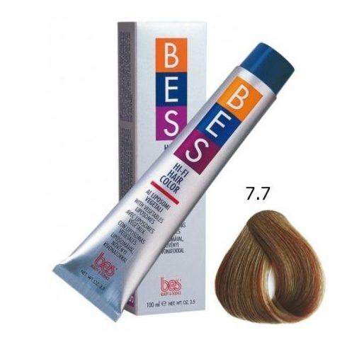 BES HI-FI hajfesték 7.7 dohányszőke 100ml