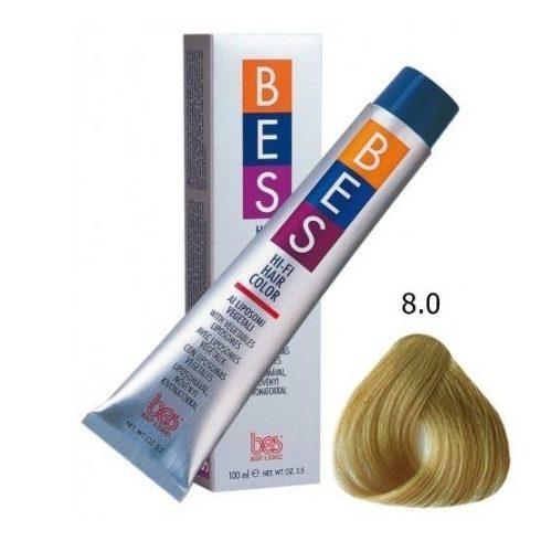 BES HI-FI hajfesték 8.0 világosszőke 100ml