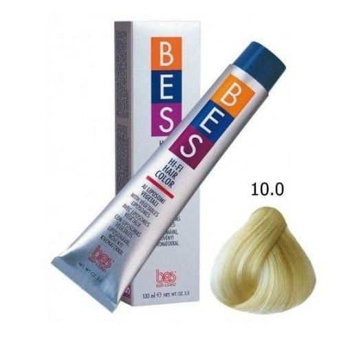 BES HI-FI hajfesték 10.0 platinaszőke 100ml