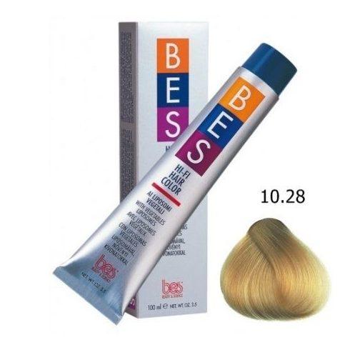 BES HI-FI hajfesték 10.28 bézs aranyló platinaszőke 100ml