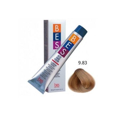BES HI-FI hajfesték 9.83 karamell szőke 100ml